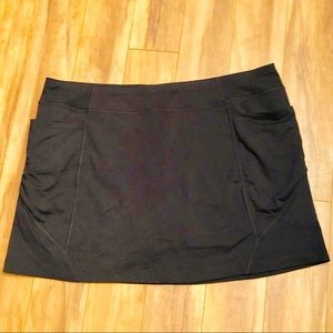 Athleta | Black Excursion Skirt